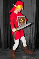 Red Link from Legend Of Zelda cosplay by MidnightSkyPhoto