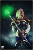 Jaina Proudmoore - Sorceress of Theramore by Strange-little-cat