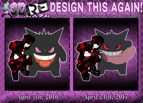 RE-Design This Again! Gengar by AyumiSpender