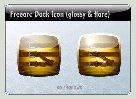 Freearc Dock Icon (glossy) by LustaufMeer