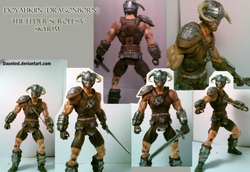 Dovahkiin Dragonborn Pose-able figure by daunted