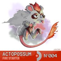 Actopossum by Lucky-Trident