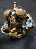 Custom Trollblood warbeast: Amuck the Iron Bruiser by Solav