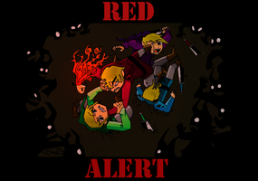 RED ALERT by TaraGraphic