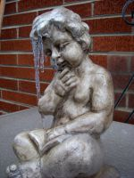 crying icicle statue by willartmaster