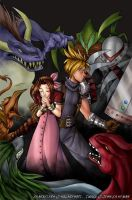 Final Fantasy 7 by ketari
