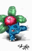 Ivysaur by sharkjaw