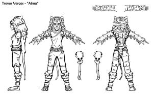 Alma Character Turnaround by Trevor-Verges