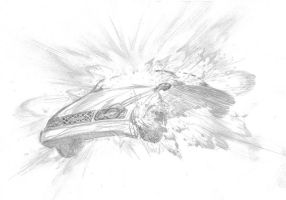 Car Go Boom by anthonyharrisart