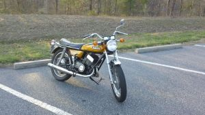 1972 Yamaha DS7 2 by p38lightning7