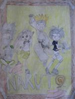 Naruto first poster by EnvitChan