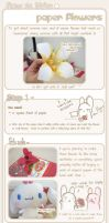 + Paper Flower tutorial + by RainCookie