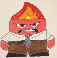 Anger by RedMcSpoon