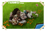 Charr licks by TorazTheNomad