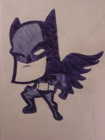 Crisscross effect batman by dominicclay123