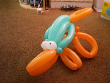 Balloon animal Perry by Lady-Catharina