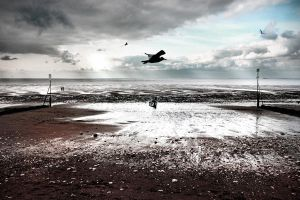 Hunstanton winterscape by Coigach