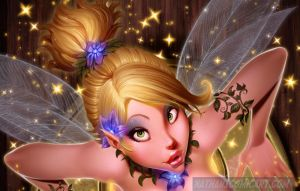 TINK STUCK IN THE KEYHOLE DA SFW by nathanscomicart