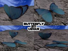 3d butterfly by christ139