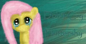 Fluttershy .... crying ... by alienkilla