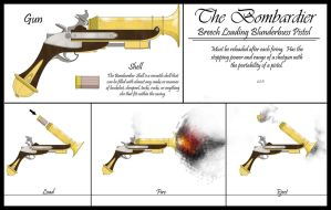 Bombardier Blunderbuss by Sathiest-Emperor
