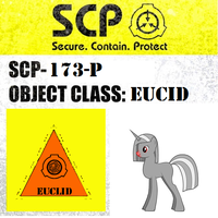 SCP-173-P sign by MLP-Portal