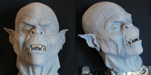 New orc sculpt by silvercrow