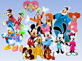 Disney's Mickey and his Friends Couples by 9029561