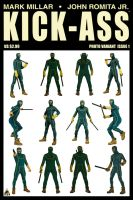 Kick-Ass Issue 1 Photo Variant Cover by Davoe