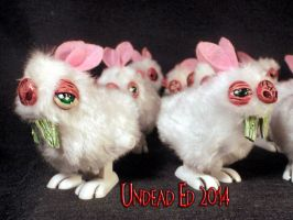 Bubonic Bunny Windup Hoppers by Undead Ed 2 by Undead-Art