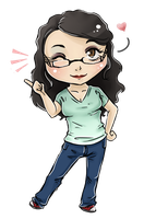 Lauren-chibi by Hallucination-Walker