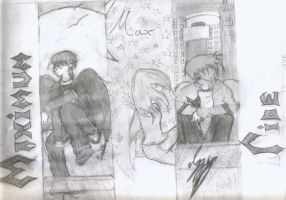 Maximum Ride: Max.Fang.Iggy. by fatchy131