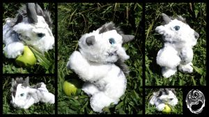 Kithael - Fantasy Creature Plush - SOLD by SonsationalCreations