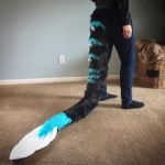 Black Cagon Tail Commission by Ariokkii