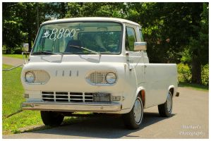 A 1961 Ford Econoline Truck by TheMan268