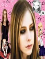 Arvil Lavigne collage by angelsoflight
