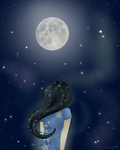 Nighttime (for ValleyWind) by lui-ysia