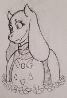 Goat Mom by cmbmint