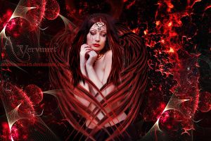 Red Angel 1 by annemaria48