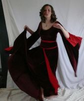 medieval dress spin by magikstock