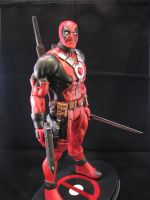 deadpool custom 12 inch figure another veiw agian by ebooze