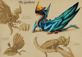 Bio-Diverse Colony - Gatherer by Tchukart