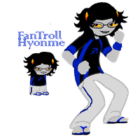 HS: Hyonme the fantroll by Zilliah