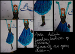 Leading Ladies of Disney: Anna - Details by random-drawer-person