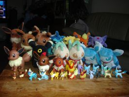 My Eeveelutions Collection by LV9