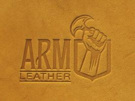 ARM Leather - stamp 1 by Blackthornleather