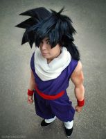 Android Saga Son Gohan cosplay by TechnoRanma