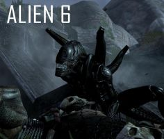 Alien 6 Wallpaper by Lordstrscream94