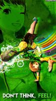 Persona 4 Dancing All Night - Chie by DaSenpai