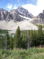 Bow Lake 3 by raindroppe